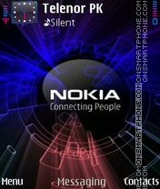 Nokia Blast theme screenshot