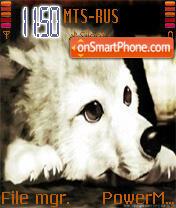 Wolf's Rain Puppy theme screenshot