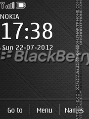 Скриншот темы Blackberry 02