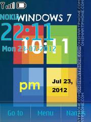 Windows 7 with tone 01 theme screenshot