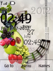 Assorted Fruits theme screenshot