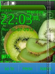 Juicy Kiwi theme screenshot