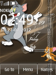 Tom and Jerry theme screenshot