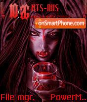 Girl Vampire es el tema de pantalla