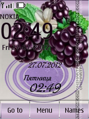 Blackberry tema screenshot