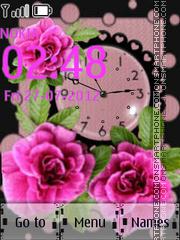 Watch With Flowers es el tema de pantalla