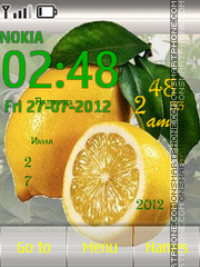 Lemons theme screenshot