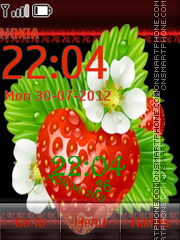 Strawberry tema screenshot