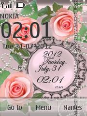 Pink roses Theme-Screenshot