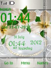 White Orchids es el tema de pantalla
