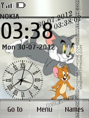 Tom and Jerry es el tema de pantalla