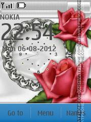 Capture d'écran Rose thème