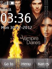 Capture d'écran The Vampire diaries thème