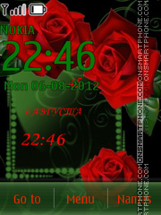 Red Roses theme screenshot