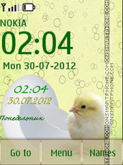 Chicken tema screenshot