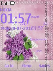 Branch of Lilac theme screenshot