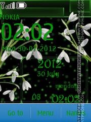 Spring Flowers es el tema de pantalla