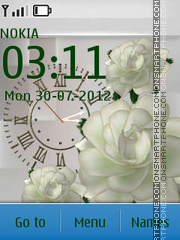 White roses es el tema de pantalla