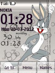 Bugs Bunny es el tema de pantalla