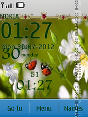 Ladybugs theme screenshot