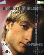 Evgenij Plushenko theme screenshot