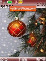 Скриншот темы Christmas Tree Anim