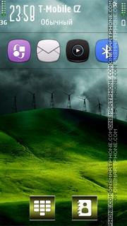 Capture d'écran Wind v5 thème
