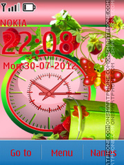 Strawberry Time tema screenshot