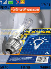 3d Bulb theme screenshot