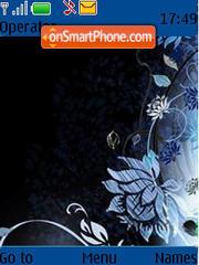 Lovely Flowers tema screenshot