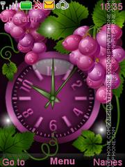 Скриншот темы Grapes