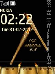London 2012 Olympics theme screenshot