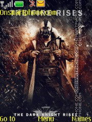 Bane The Dark Knight Rises es el tema de pantalla