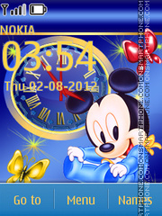 Little Mickey Mouse es el tema de pantalla