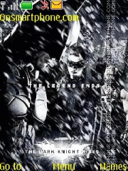 The Dark Knight Rises theme screenshot
