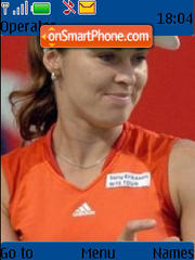 Martina Hingis tema screenshot