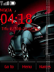 Nissan Juke Animated theme screenshot
