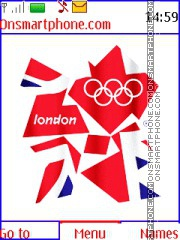 London 2012 Olympic Games theme screenshot