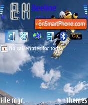 Skytebord es el tema de pantalla