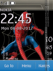 Spiderman Theme-Screenshot