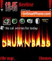 DrumnBass v2 theme screenshot