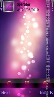 Lilac - BLV tema screenshot
