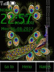 Peacock theme screenshot