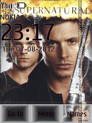 Winchesters theme screenshot