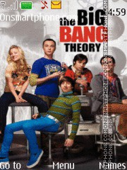 The Big Bang Theory theme screenshot