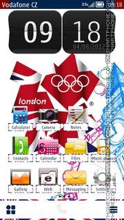London 2012 01 es el tema de pantalla