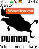 Pumba tema screenshot