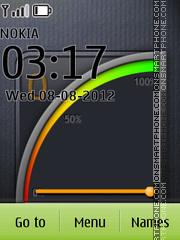 Battery Signal theme screenshot