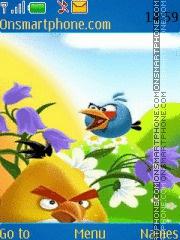 Angry Birds 2015 theme screenshot