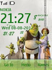 Capture d'écran Shrek thème